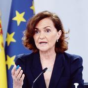 Carmen Calvo: «Le gouvernement catalan discute tous les jours avec nous»