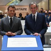 Bernard Arnault: «La renaissance de la Samaritaine est un symbole après quinze mois de crise»