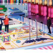 Billes, dominos, briques: Quand la télévision retombe en enfance