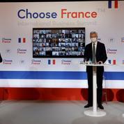 Emmanuel Macron vante à Versailles l'attractivité retrouvée de la France