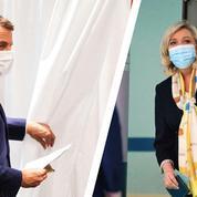 Macron, Le Pen: la double sanction