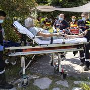 Sur la Côte d'Azur, les pompiers plus sollicités que jamais