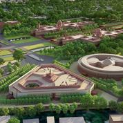 Sur le chantier titanesque de Central Vista, où Modi veut afficher l'Inde nouvelle