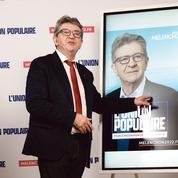 Présidentielle: en chute dans les sondages, Mélenchon face au risque d'une marginalisation