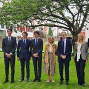 Bernard Arnault lègue la maison de ses parents à l'Edhec en présence de Brigitte Macron