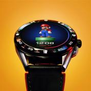 Super Mario et TAG Heuer gamifient la montre connectée