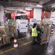 Amazon s'installe dans un dépôt de bus RATP
