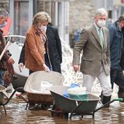 Inondations: la Belgique sous le choc