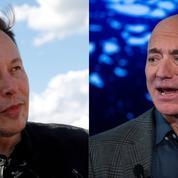 Jeff Bezos-Elon Musk: un duel spatial encore déséquilibré