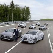 Mercedes: cap sur l'électrique