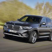 BMW X3 et X4, à la retouche
