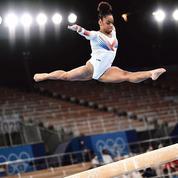 JO: Mélanie de Jesus Dos Santos fait rêver la gymnastique française
