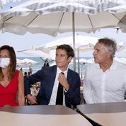 Gabriel Attal, le VRP du vaccin sur les plages