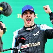 Formule 1: Ocon et Alpine médaillés d'or en Hongrie