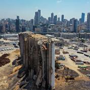 Liban: les quartiers fantômes du port de Beyrouth toujours à l'abandon