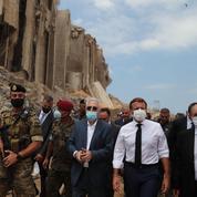 Liban: même sans résultat, Emmanuel Macron poursuit son forcing