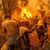 Les Européens secourent la Grèce, ravagée par les feux
