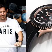 Lionel Messi rejoint le PSG, une Rolex de régate au poignet