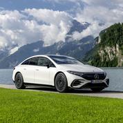 Mercedes EQS, le pari de l'électrique longue distance