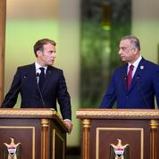 Emmanuel Macron réengage laFrance en Irak