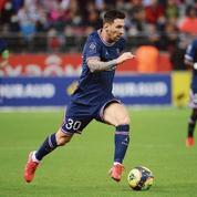 Lionel Messi, une «Œuvre d'art» à Paris sur C8