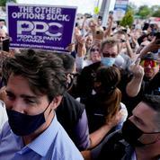 Au Canada, le chemin de croix électoral de Justin Trudeau