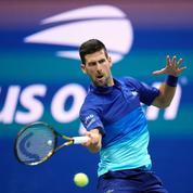 US Open: Novak Djokovic au pied des deux dernières marches