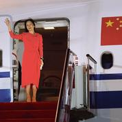 Pékin met en scène la libération de Meng Wanzhou, héritière de l'empire Huawei
