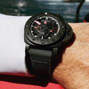 Panerai Brabus Black Ops, un bolide de luxe au poignet