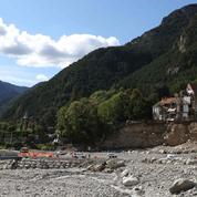 Tempête Alex: un an après, la lente reconstruction des vallées dévastées