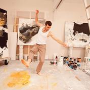 Silvère Jarrosson, pas de deux avec la peinture