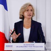 Présidentielle 2022: à droite, Valérie Pécresse fustige le bilan d'Emmanuel Macron
