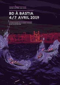 L'affiche de l'édition 2019, réalisée par Cyril Pedrosa, s'inspire du drame des migrants comme de la «Vague» d'Hokusai.