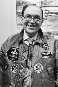 James Ragan, ingénieur aérospatial, à l'origine des tests d'homologation du chronographe.