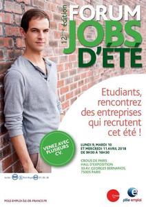 Le Crous de Paris organise un forum jobs d'été dans le 5 ème à Paris.