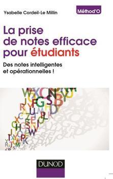 Ysabelle Le Millin a publié  <i>La prise de notes efficace pour étudiants</i>.