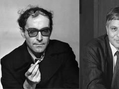 Godard-Sollers: l'entretien «fumeux» entre le réalisateur et l'écrivain
