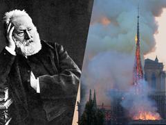 Quand Victor Hugo évoquait la «grande flamme furieuse» de Notre-Dame de Paris