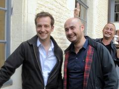 Bruno Lavaine et Nicolas Charlet présentent leur Drôle de festival à Paris