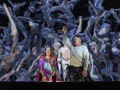 Opéra: un Tristan et Isoldeloin de la lune de miel à Bruxelles