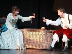 Mademoiselle Molière, côté cour et côté chagrin