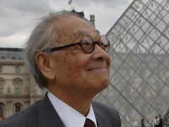 Ieoh Ming Pei, l'architecte de la pyramide du Louvre, est mort