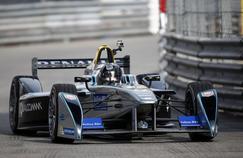 À Monaco, au volant d'une Formule E