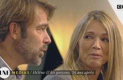 Hélène Rollès et Patrick Puydebat trouvent «violent» de se voir vieillir à l'écran