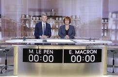 Présidentielle : comment Christophe Jakubyszyn et Nathalie Saint-Cricq préparent le débat