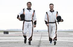David Hallyday et Henri Leconte, la passion de l'automobile dans Top Gear France