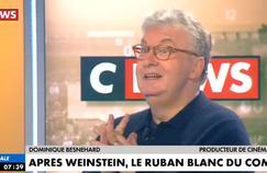 Dominique Besnehard s'en prend à Caroline de Haas sur CNews : «J'ai envie de la gifler»