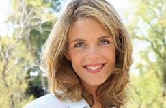 Julie Andrieu en tournage au château de Chambord