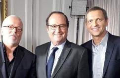 François Hollande sur la chaîne L'Équipe