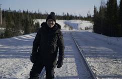 Des trains pas comme les autres : Philippe Gougler affronte le froid glacial canadien